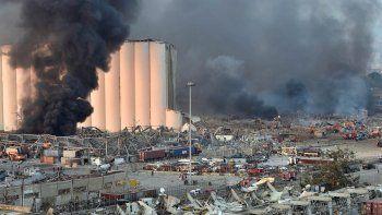 Denuncian obstrucción en la investigación de explosión en el puerto de Beirut