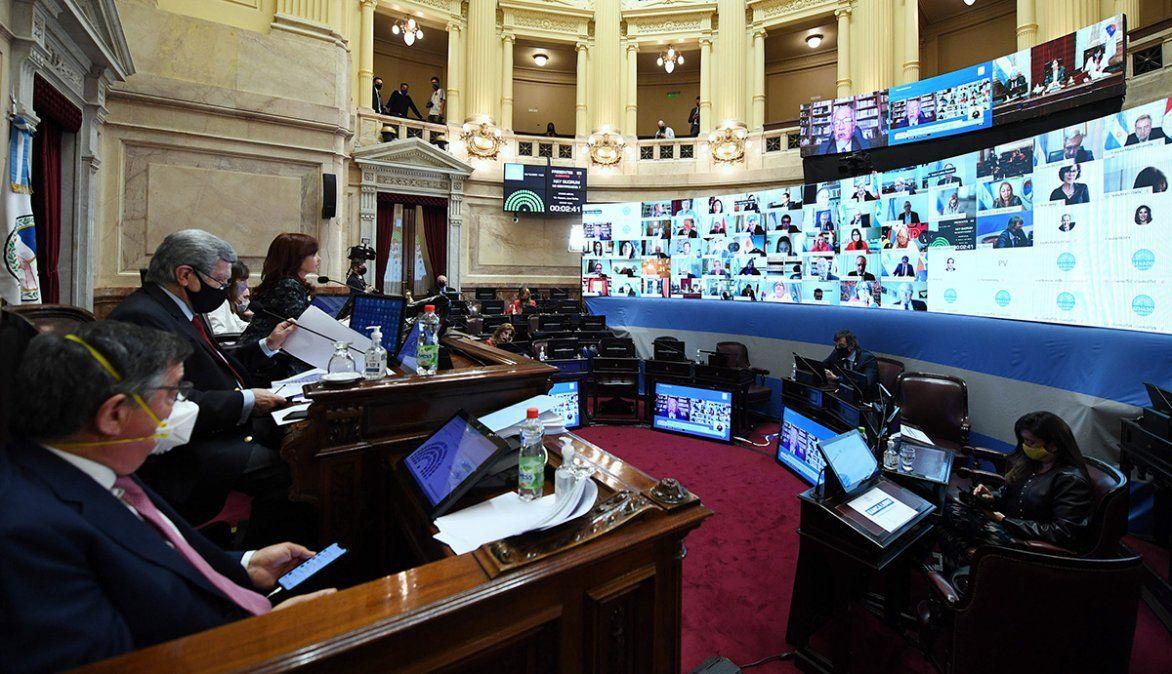 Sin el voto de la oposición, el Senado aprobó el pliego de 28 magistrados