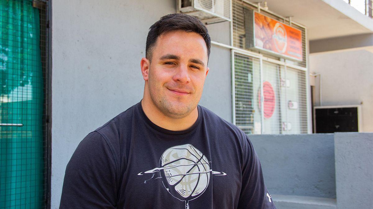 Ignacio Carballo se prepara para retomar su sueño olímpico