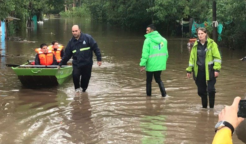 El Gobierno nacional envió ayuda a Buenos Aires