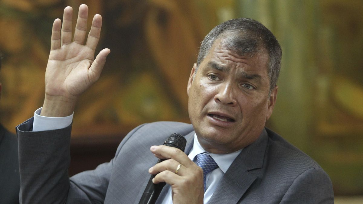 El ex presidente de Ecuador