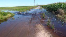 Productores piden mayor celeridad para finalizar las obras por excesos hídricos