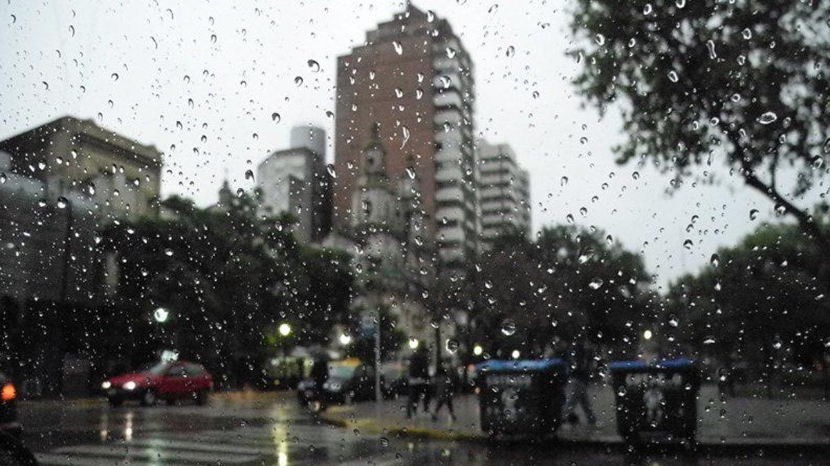 Rige un alerta por tormentas para el departamento Río Cuarto