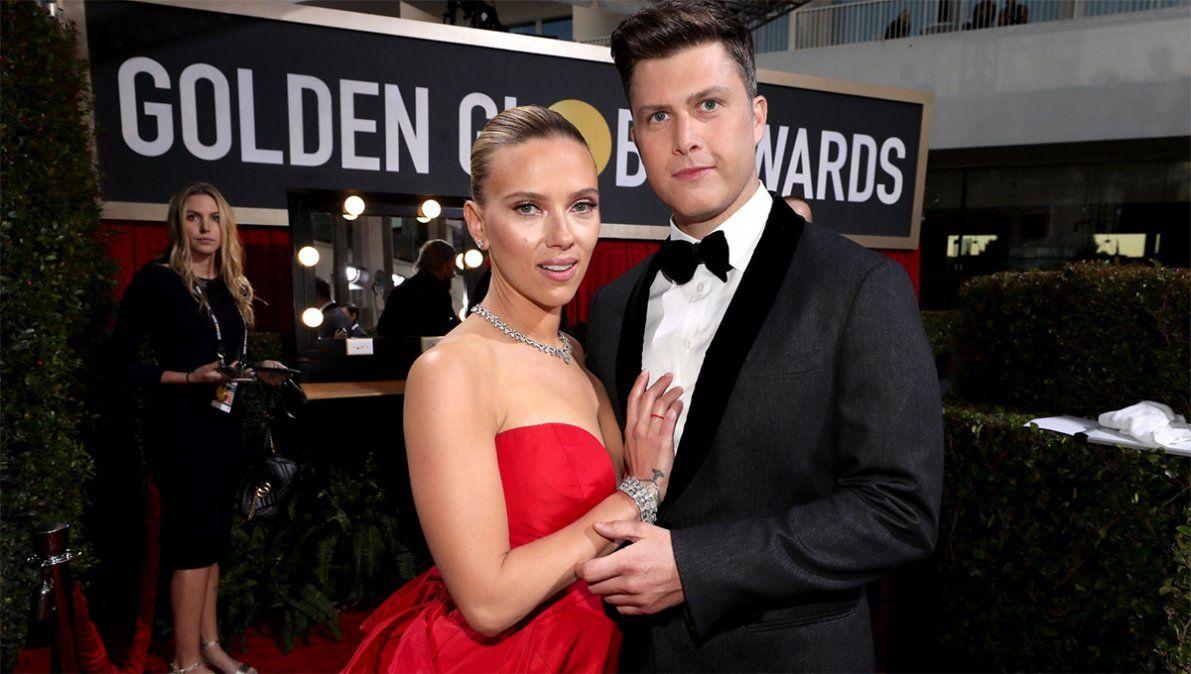 Scarlett Johansson dio el sí quiero por tercera vez