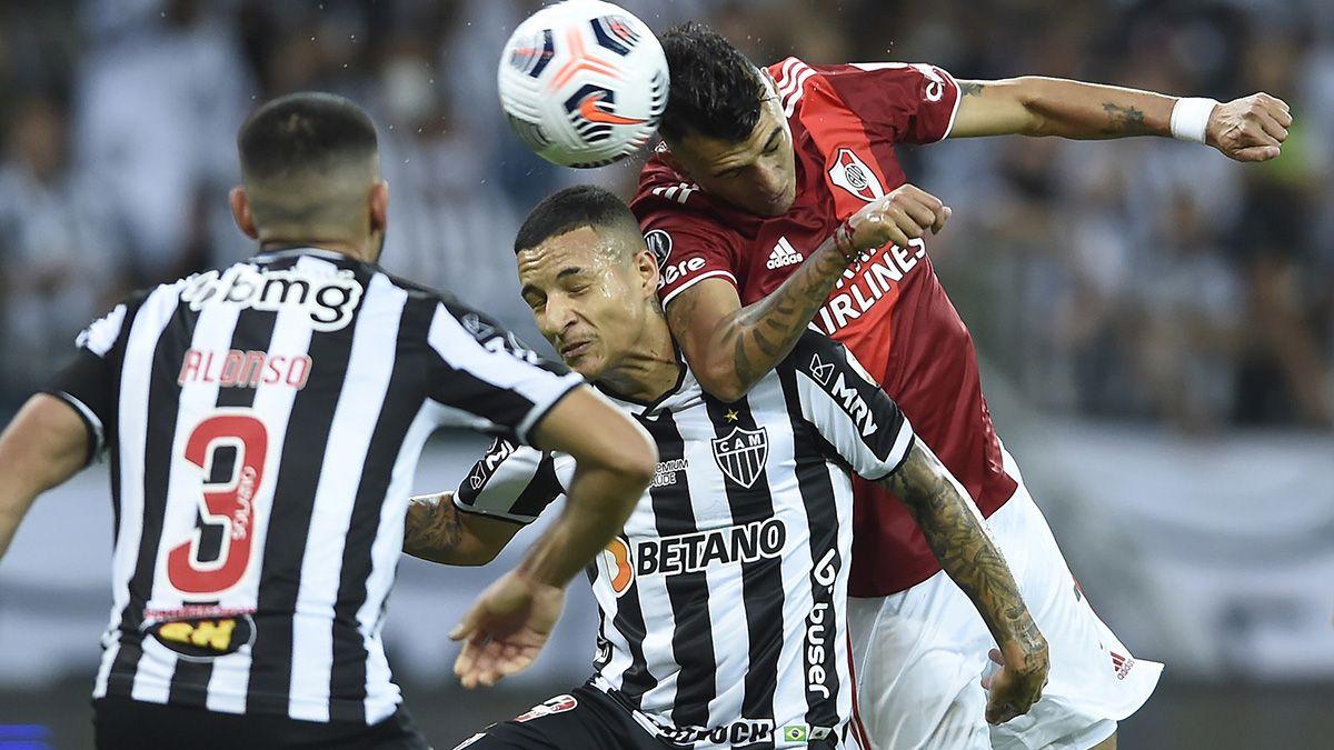 Atlético Mineiro le dio un cachetazo a River