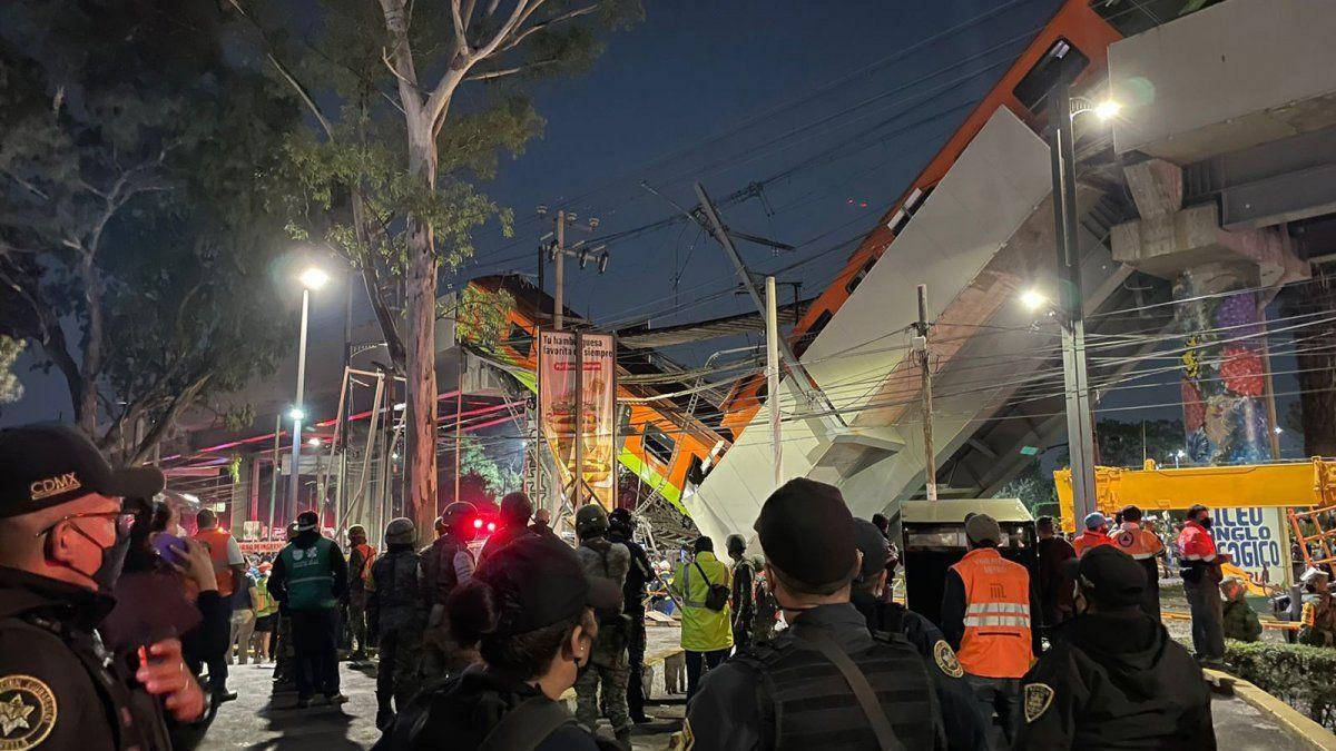 Los vecinos de esta zona habían alertado a las autoridades de que el temblor de septiembre de 2017 había afectado a la estructura del metro.